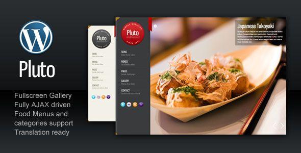 Los 30 mejores diseños de Wordpress para restaurantes | Diseño ...