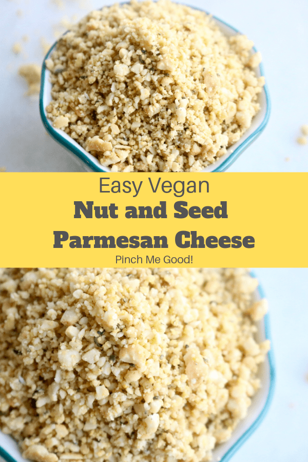 Easy Nut And Seed Vegan Parmesan Cheese