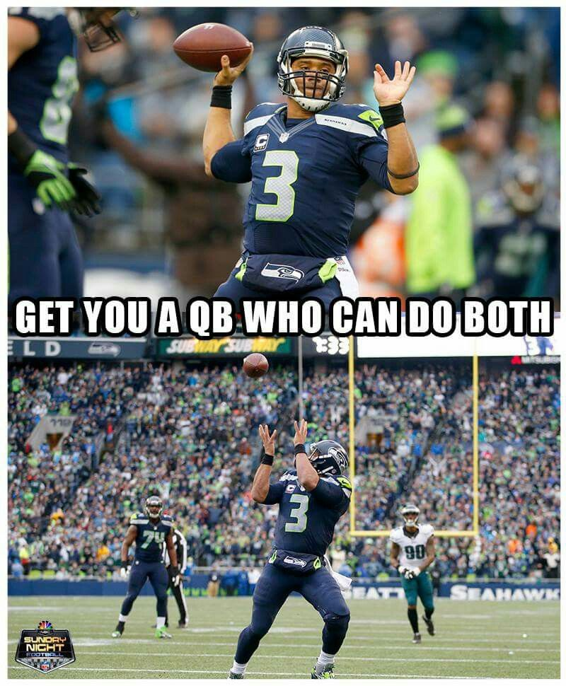 Love me some Russell Wilson!