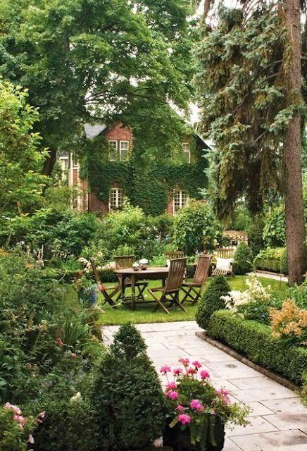 English Country Garden Backyards Click Landscape 640 x 480