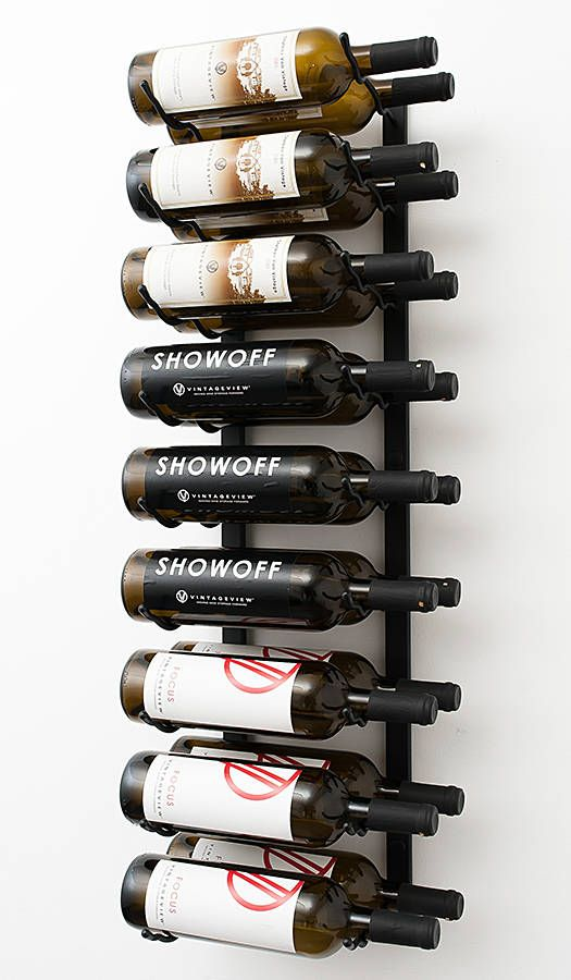 Vintageview Ws32 18 Bottle Wall Mounting Metal Wine Rack 3