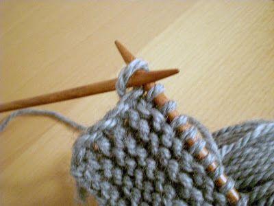 Easy Way To Do A Selvage Stitch Tutorial - (fainasknittingmode.blogspot)