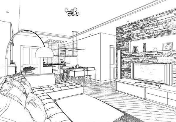 Frase de philip johnson la arquitectura es b sicamente for Espacio interior