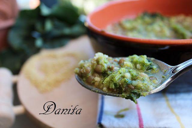 Zuppa di miglio ai broccoletti e lenticchie  http://leleccorniedidanita.blogspot.it/2012/04/zuppa-di-miglio-ai-broccoletti-e.html