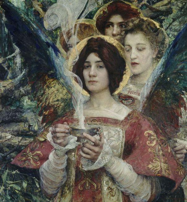 Edgar Maxence - L'Âme de la forêt, 1898