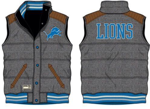 326e1685 Detroit Lions reversible Vest. Officially licensed NFL - imported ...