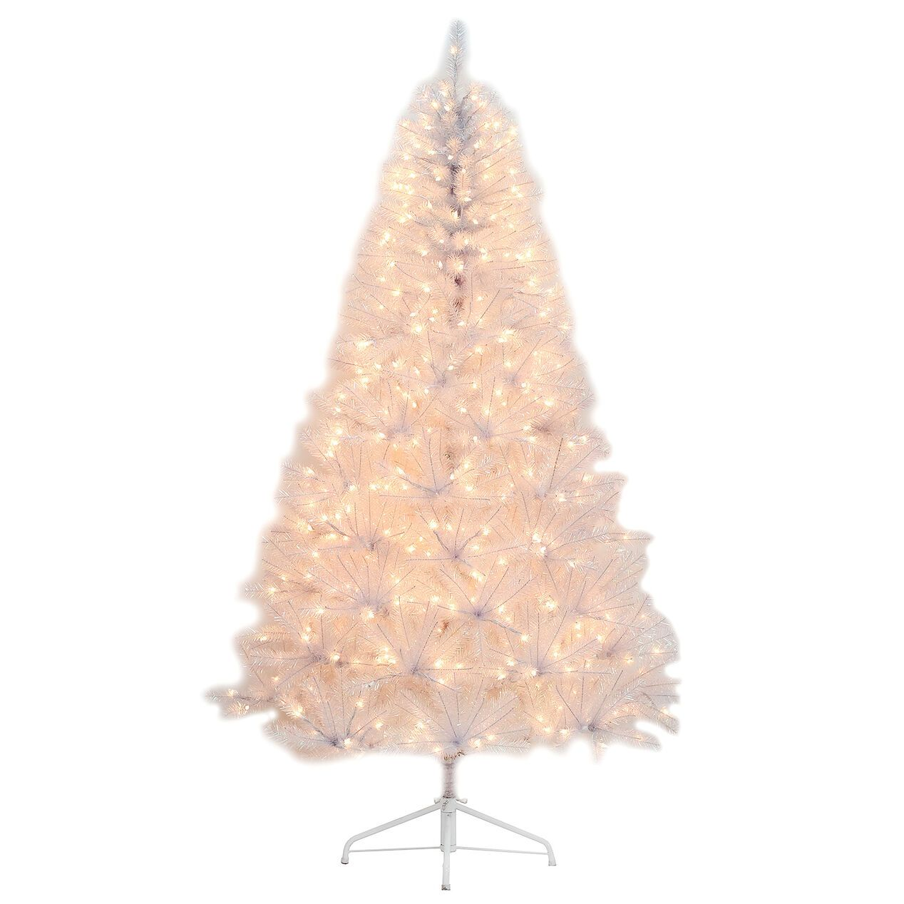 D21 7 Pre Lit Luna Iridescent Tree With 500 Clear Lights At Home Lights Christmas Tree Shop Light