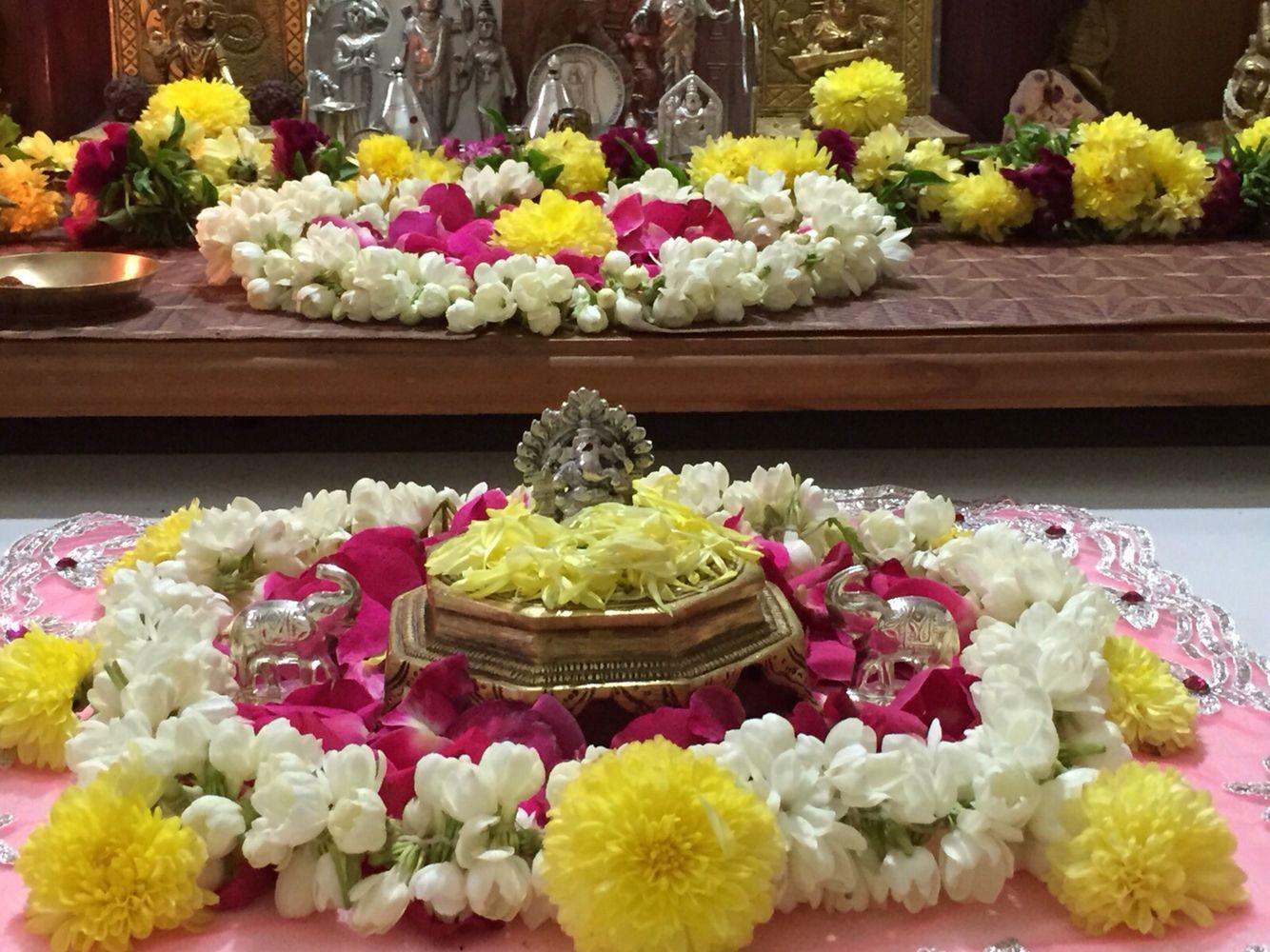 Pin by sharmila vinayagam on sv | Janmashtami decoration ...