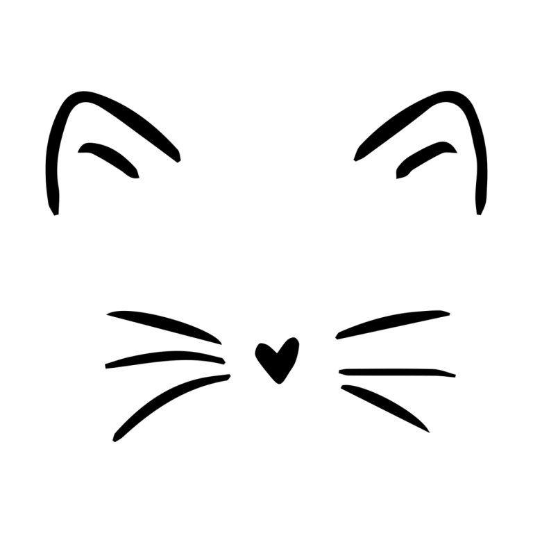 Cat Whiskers Heartlocked S Artist Shop In 2021 Cute Easy Drawings Simple Cat Drawing Easy Doodle Art