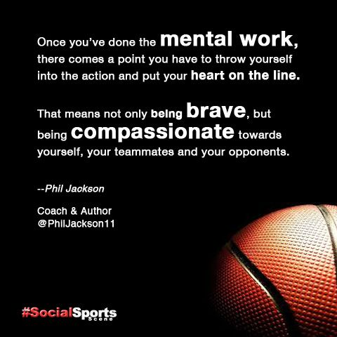 Pin By The Social Sports Scene On Sports Quote Of The Day Sports Quotes Basketball Quotes Phil Jackson