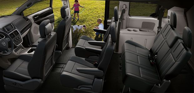 Best 8 Passenger Suv >> Dodge GrandCaravan Interior Versatility 7 Passenger ...