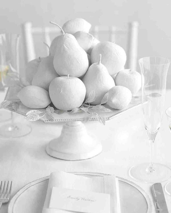 Wedding Centerpieces Ideas Without Flowers: Bye-Bye Blooms: 15 Frugal & Fabulous Wedding Centerpieces
