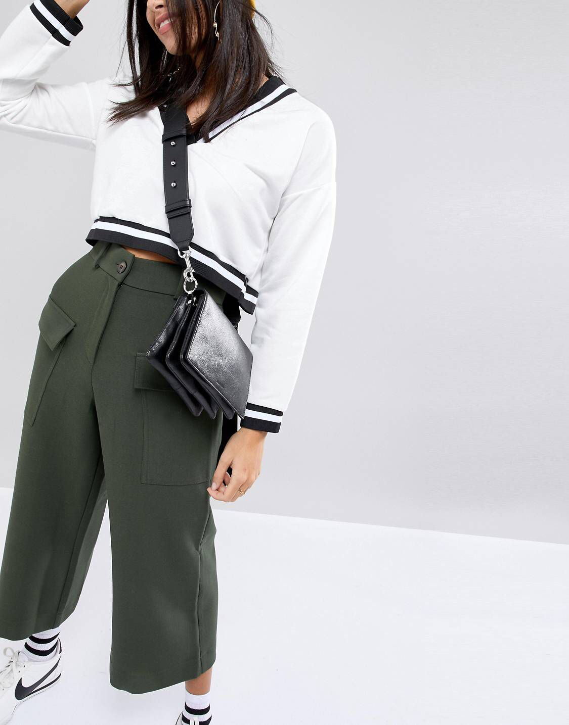 4ad4b04fdcea AllSaints Zep Shoulder Bag