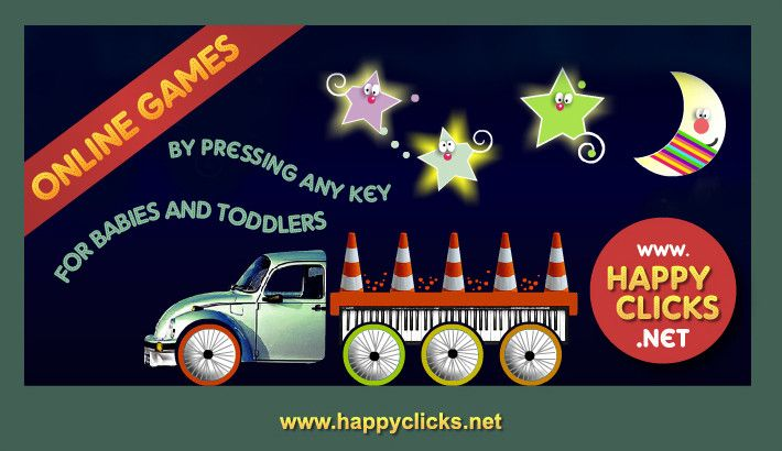 Keypress Game For Toddlers And Babies By Happy Clicks