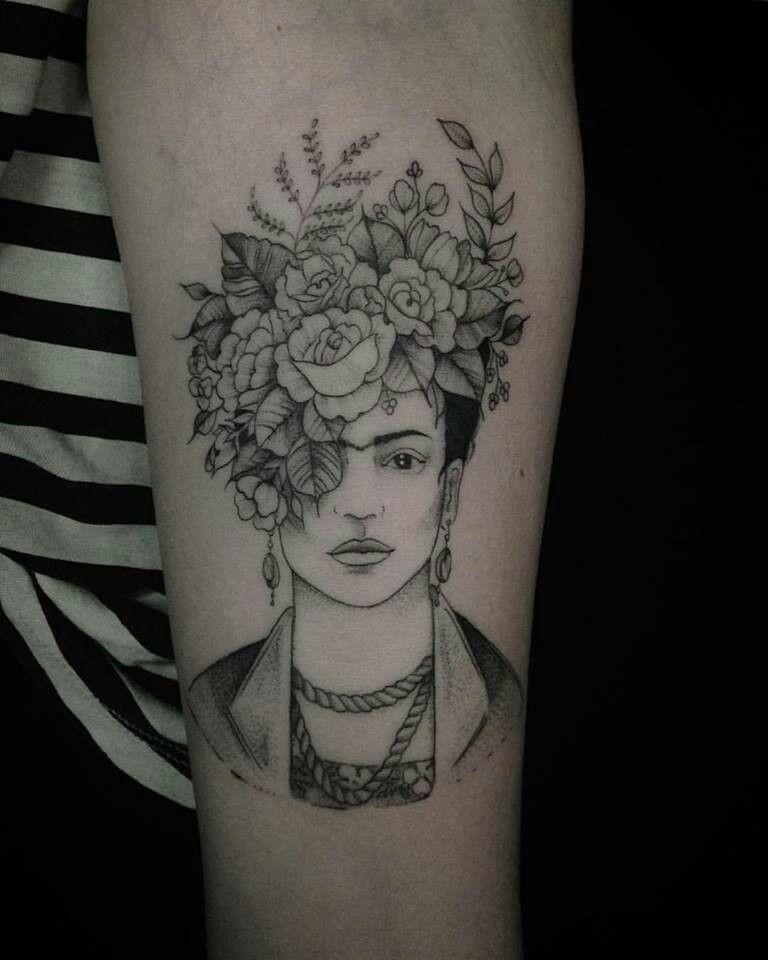 Fine linework | Tattoos | Pinterest | Frida, Frida kahlo y Tatuajes
