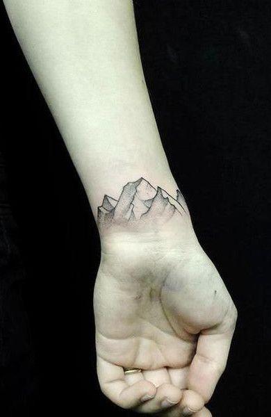 татуировки на запястье для мужчин фото