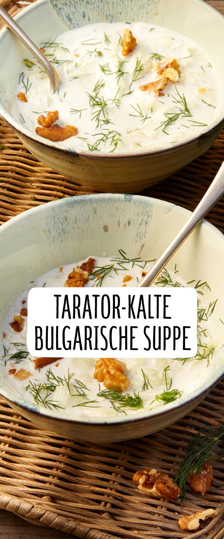 Tarator Kalte Suppe Aus Bulgarien Rezept In 2019 Schlemmen
