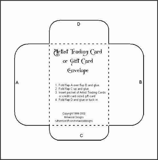 Beautiful 6 Envelop Template In Word Sampletemplatess Gift Card Envelope Template Gift Card Envelope Envelope Template Printable