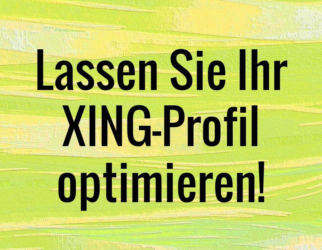 Lassen Sie Ihr XING-Profil optimieren! #amazing #cool #jobs