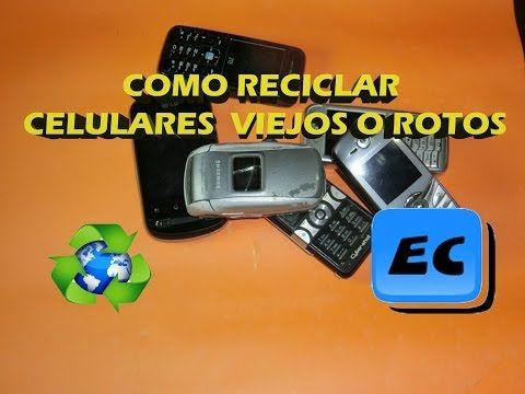 Que Podemos Hacer Con Un Celular Viejo O Roto Reciclado De Moviles Telefono Proyectos Electronicos Tecnologia Electronica Equipo Informatico