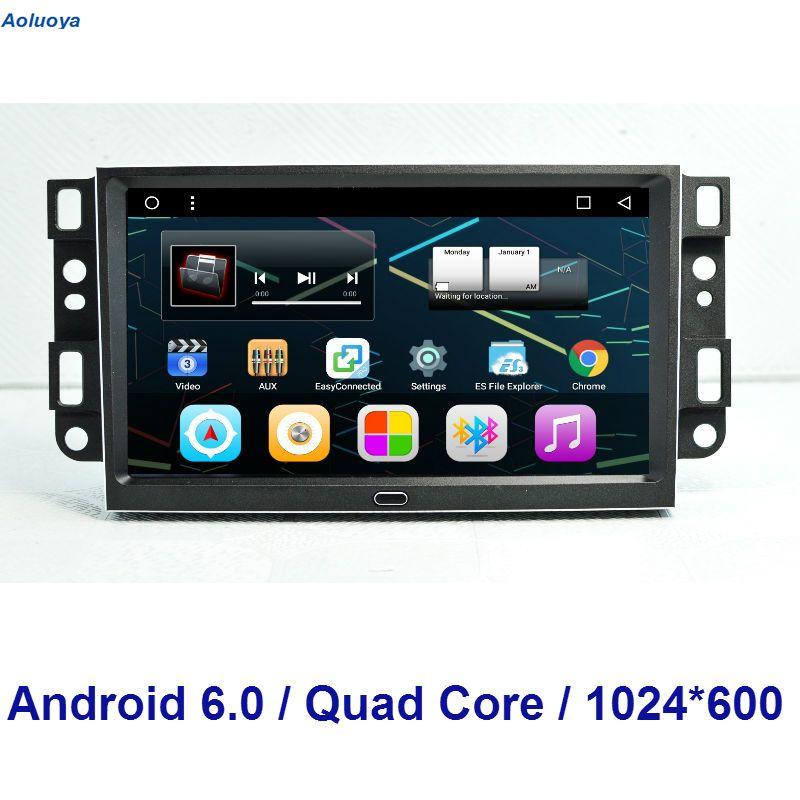 Aoluoya Quad Core Android 6 0 Car Radio Dvd Gps Navigation For Chevrolet Epica Captiva Lova 2006 2011 Aveo Optra Lexus Lx470 Head Unit Toyota Land Cruiser 100