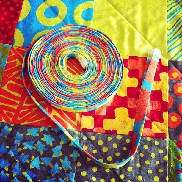 Machine Binding A Quilt, Quilt