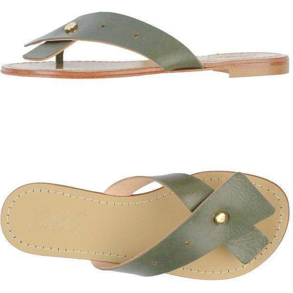 Carlag. Thong Sandal (2.625 RUB) ❤ liked on Polyvore