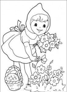 desenhos historia chapeuzinho vermelho colorir atividades escola 3