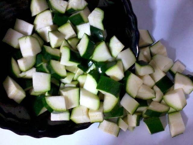 Receitas de cozinha: Receita de creme de abobrinha verde com carne moíd...