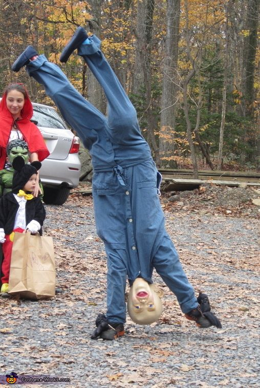 Upside Down Baby - 2013 Halloween Costume Contest