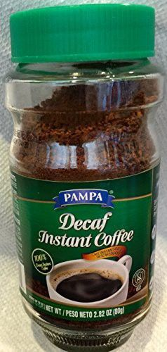 Pampa Decaf Instant Coffee 2 82 Oz Instant Coffee Decaf Pampa