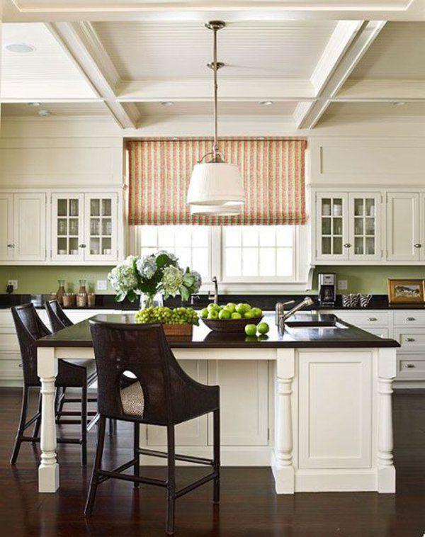 raffrollo f r k che eine praktische dekoration f r die fenster gardine pinterest k che. Black Bedroom Furniture Sets. Home Design Ideas