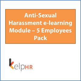 Niojak HR Mall | Anti-Sexual Harassment e-learning Module – 5 Employees