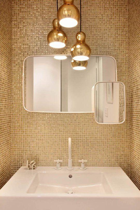 Bold Colors Modern Lines Meld In A Nyc Loft Design Lampen Und Leuchten Und Badezimmer
