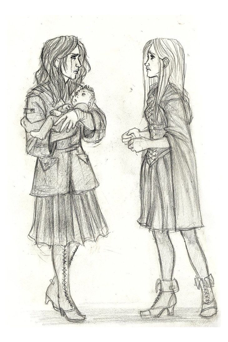Black Sisters By Catching Smoke On Deviantart Harry Potter Fan Art Black Sisters Harry Potter Art