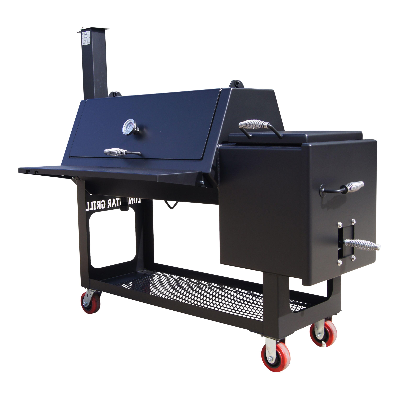 20 X 42 Offset Smoker Offset Smoker Custom Smokers High Heat Paint
