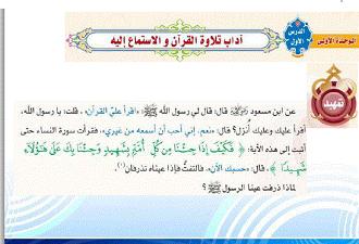 القرآن خامس إبتدائي الفصل الدراسي الثاني Place Card Holders Cards Place Cards
