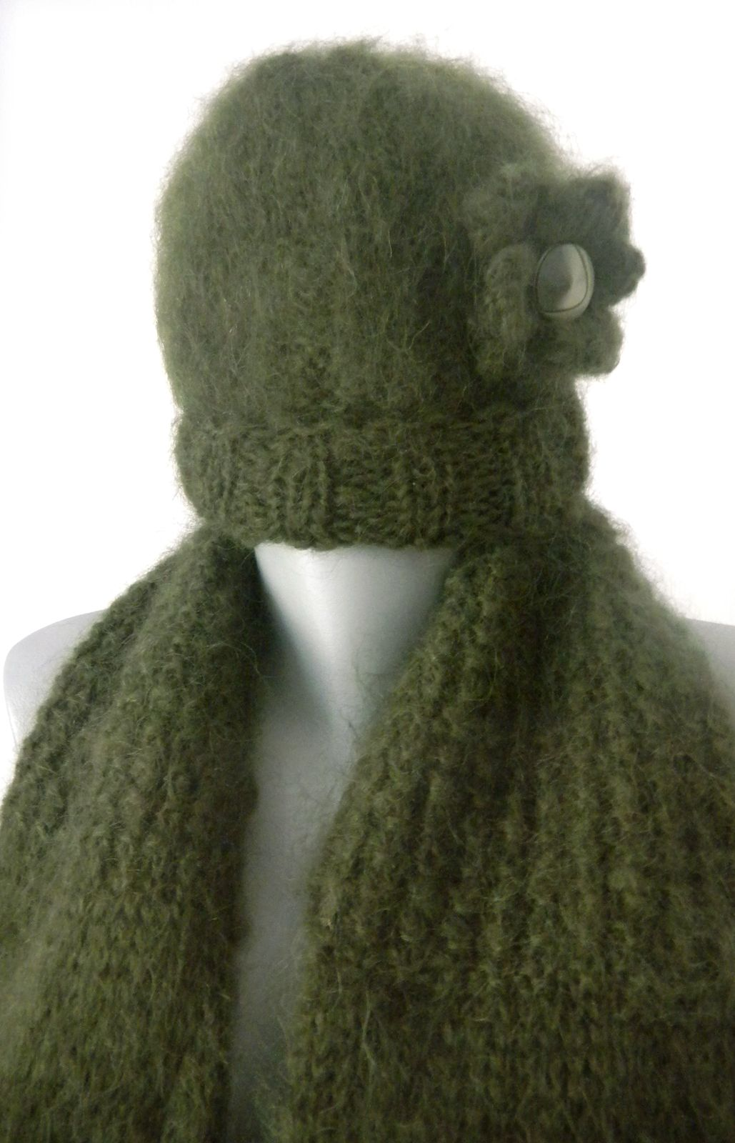 Knitting from mohair. The finest wool of the finest wool