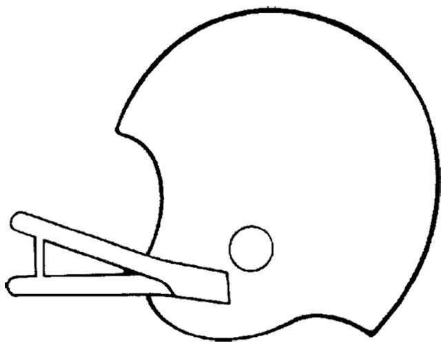 Design A Football Helmet Coloring Page | Kids Coloring Pages | Pinterest