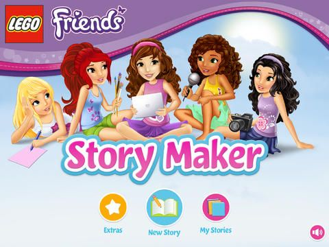 Free LEGO Friends Story Maker App. from itunes | Lego Friends ...