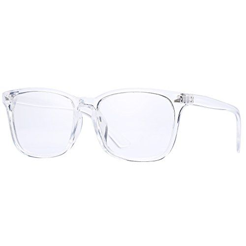 Pro Acme New Wayfarer Non-prescription Glasses Frame Clear Lens ...