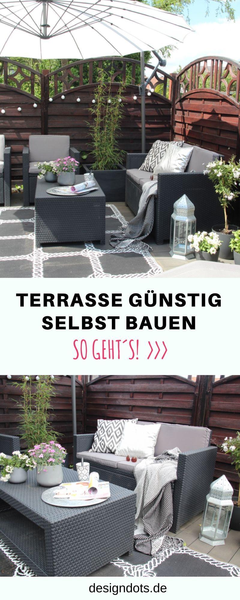 Unsere Neue Diy Terrasse Terrasse Dekorieren Diy Terrasse Und