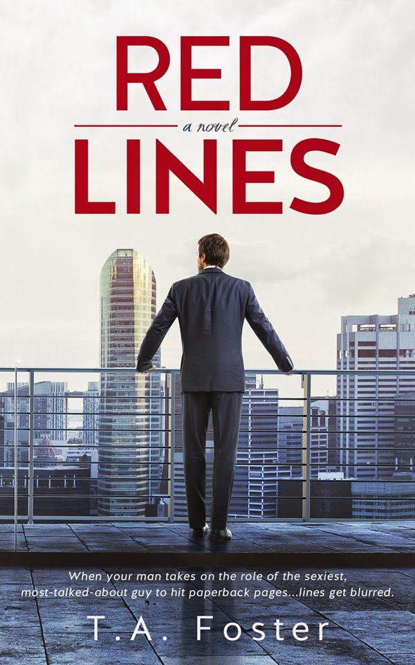 Romance and Fantasy for Cosmopolitan Girls: RED LINES by T.A. Foster