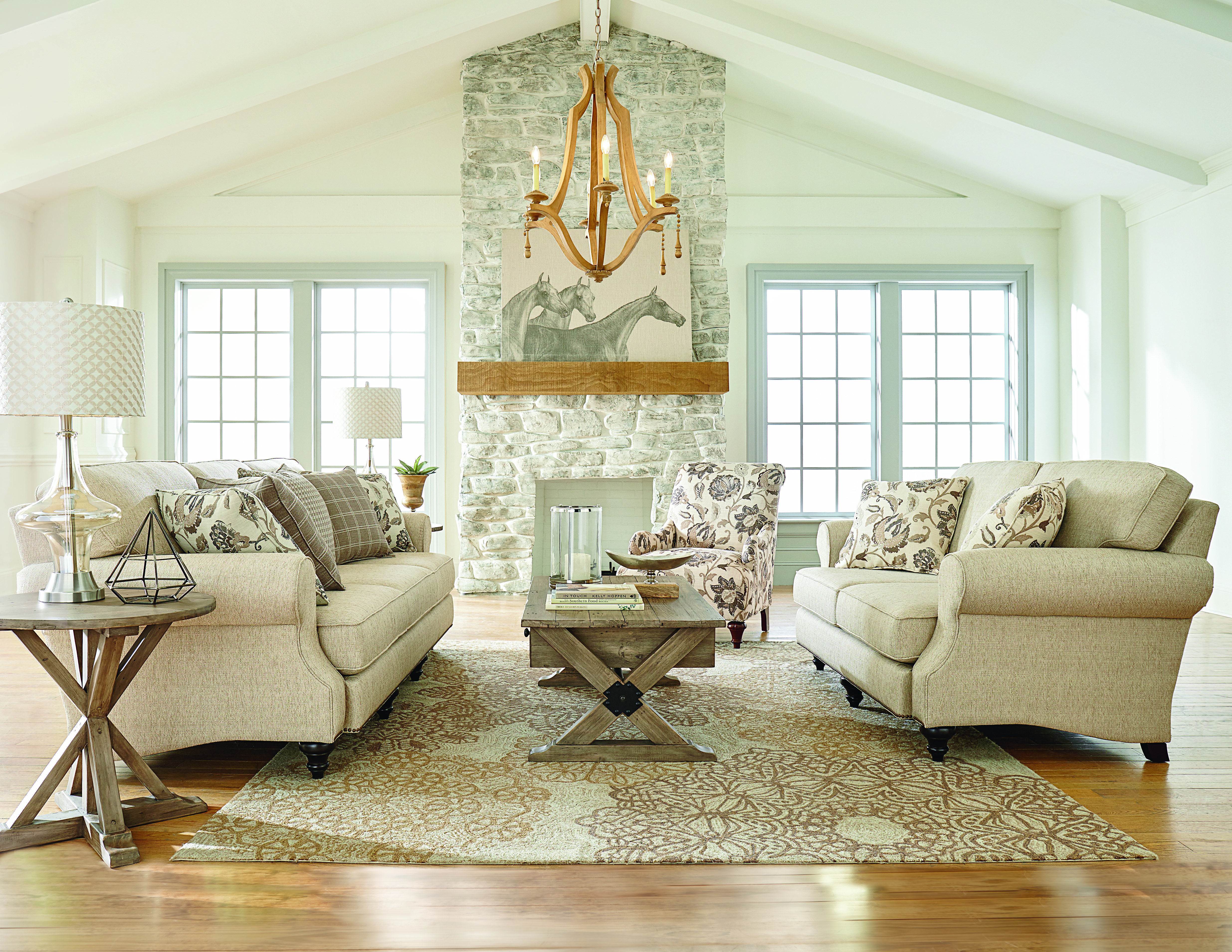 Living room inspiration by one of our furniture lines