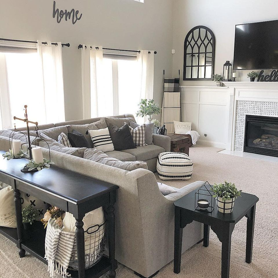 Photo of Modern Farmhouse Living Room