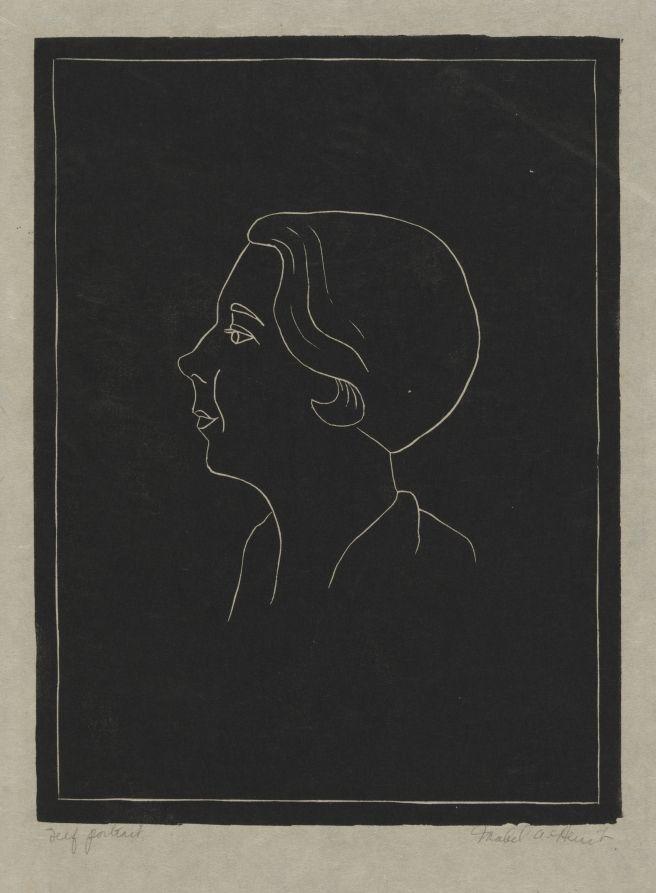 Mabel Hewit: Self-Portrait | Cleveland Museum of Art