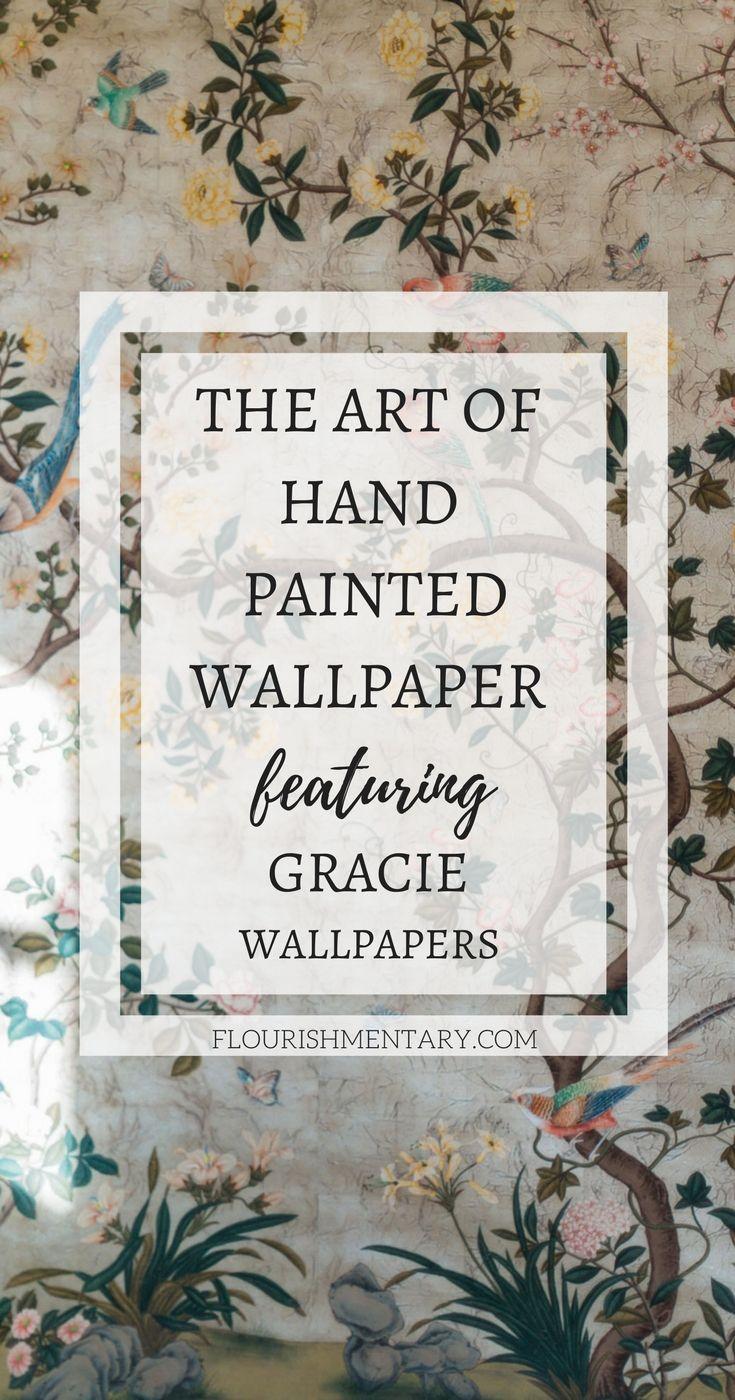 Gracie Wallpaper 120 Years Of Handpainted Wallpaper Art