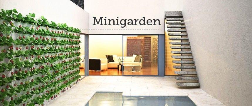 Jardinera modular minigarden tu jard n vertical en casa - Jardin vertical en casa ...
