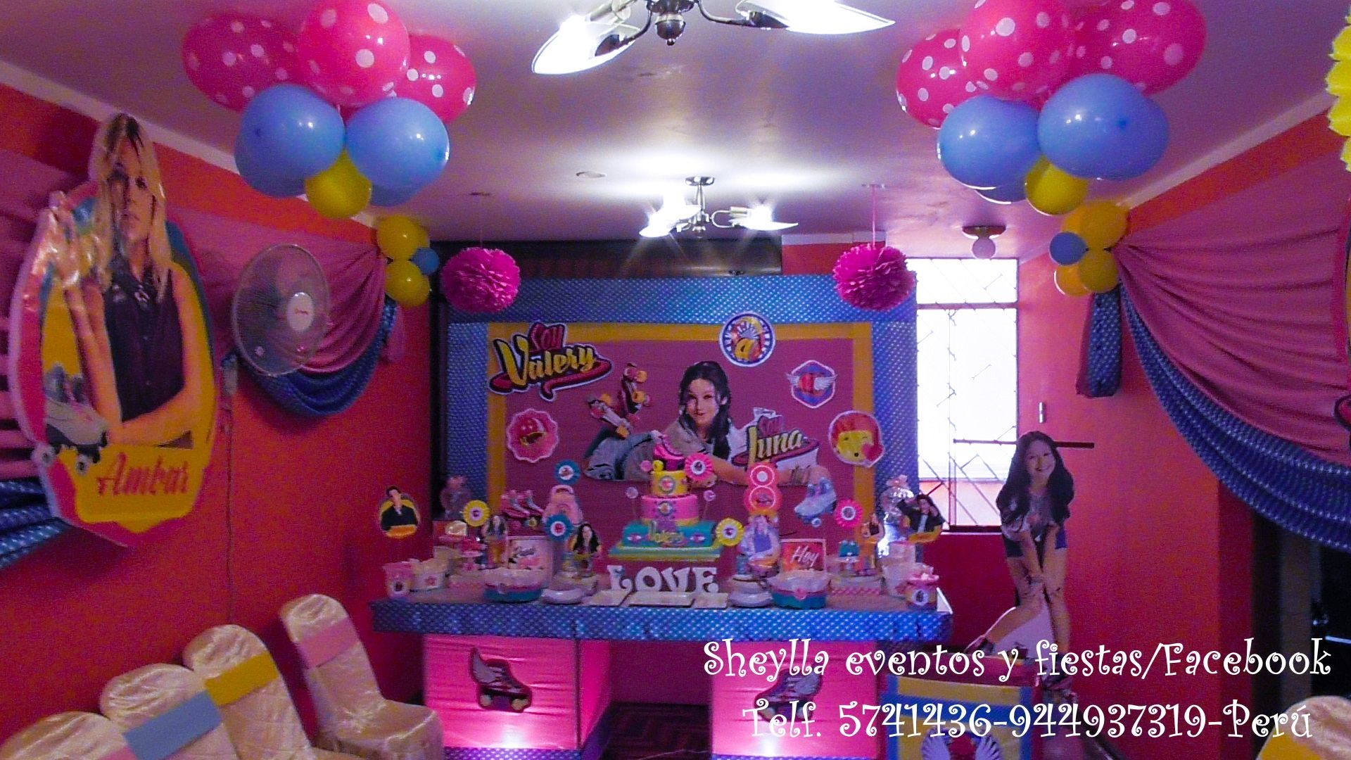 Decoraci n soy luna fiesta infantil torta cumplea os - Decoracion de mesa de cumpleanos infantil ...