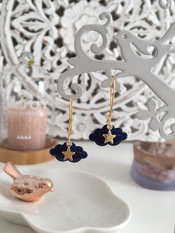 Inaya Golden and Bordeaux earrings, Wedding Accessory, Bride Jewelry
